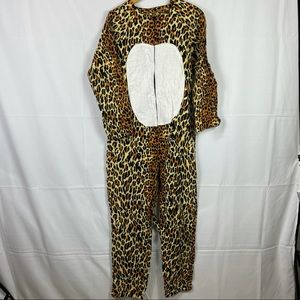 Leopard Halloween jumpsuit costume